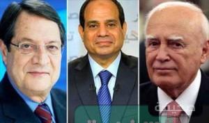 السيسي يلتقي زعماء  اليونان وقبرص بالقاهرة في نوفمبر
