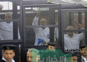 محكمة جنايات الجيزة تحكم على مرشد الاخوان  بالسجن المؤبد و الإعدام لعاصم عبد الماجد