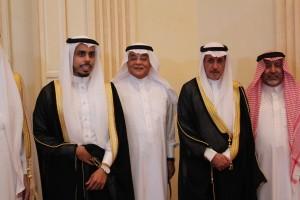 """عائلة السبيعي والمانع تحتفلان بزفاف """"عبدالرحمن"""""""
