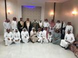 العميد طيار ركن جمعان الزهراني يحتفل بعقد قران الشاب خالد