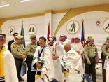 """وصول أولى رحلات حجاج إندونيسيا """"طريق مكة""""إلى مطار الملك عبدالعزيز الدولي بـجدة"""