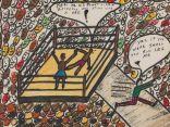 عرض لوحات نادرة رسمها أسطورة الملاكمة محمد علي للبيع في مزاد