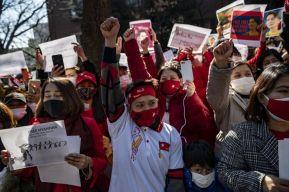 الإفراج عن 23 ألف سجين بأوامر قادة انقلاب ميانمار