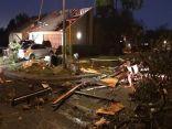 أكثر من 100 مبنى تضرر جراء عاصفة في مدينة سان أنطونيو الأمريكية
