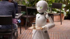 """باستخدام """"الروبوت"""".. شباب يديرون مقهى من المنازل فى """"طوكيو"""""""
