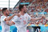 إسبانيا تدك سلوفاكيا بخماسية وتصحب السويد إلى ثمن النهائي