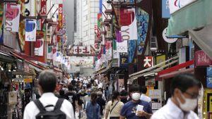 اليابان توسع حالة طوارئ كورونا بعد ارتفاعات قياسية