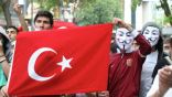 تظاهرة جديدة ضد الحكومة على مقربة من ساحة تقسيم في اسطنبول