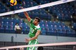 """في افتتاح البطولة الآسيوية الـ21.. """"طائرة الأخضر"""" تتوقف في محطة كوريا"""