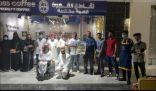 فريق ( تنوع الفن ) يدعم الفن التشكيلي في مدينة الرياض .