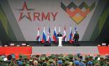انطلاق الألعاب العسكرية الدولية 2021 في روسيا