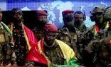 زعيم الانقلابيين في غينيا يتعهّد بتشكيل حكومة وحدة وطنية