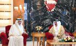 خلال استقباله وزير الخارجية #ملك_البحرين يبارك إنشاء مجلس التنسيق السعودي – البحريني