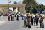 مصر تعيد فتح معبررفح مع غزة في الاتجاهين لأربع ساعات