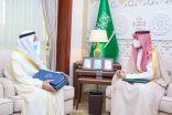 نائب أمير الشرقية يستقبل رئيس جامعة الإمام عبدالرحمن بن فيصل
