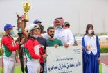 بميدان الملك خالد بالطائف .. الخيالة السعودية أمل فيصل تشارك في تتويج الفائزين