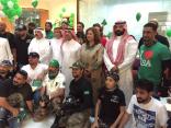 بمشاركة القنصل الأمريكي : تفاعل كبير مع فعاليات يوم الوطن في منتزه الملك فهد بالدمام