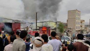 صنعاء تحترق وأصابع الاتهام تشير إلى مليشيا الحوثي