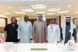 وفد جمعية عناية برئاسة الأمين العام يزور جمعية أصدقاء لاعبي كرة القدم الخيرية