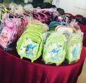 """""""وهج الخيرية"""" تطلق مشروع الحقيبة المدرسية بالجبيل الصناعية"""