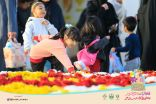 انطلاق فعاليات مهرجان الزهور بحوطة سدير