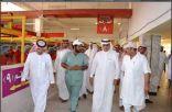 أمين الرياض يتفقد نقاط بيع الأضاحي والمسالخ استعداداً للعيد