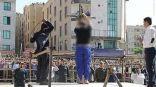 ردود فعل عالمية لتنفيذ حكم الجلد اللاإنساني  على 35 شاب وفتاة في إيران